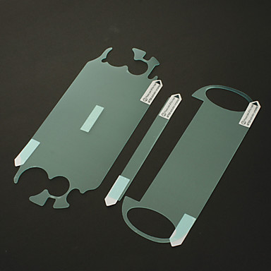 2 x Clear Full Body LCD Front + Back Screen Protector Guard for PS Vita PSV