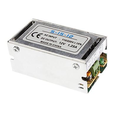LED Ampul için güç Sürücü (12V, 1.25A, 110/220V ± 15%)