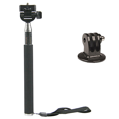 Accessories Monopod Mount / Holder High Quality For Action Camera All Gopro Gopro 5 Sports DV Stainless Steel Plastic