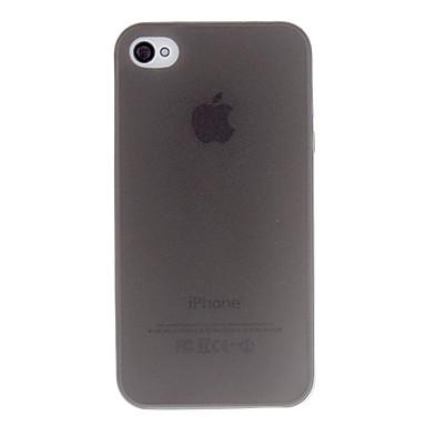 Pouzdro Uyumluluk iPhone 4/4S Apple Arka Kapak Yumuşak TPU için iPhone 4s/4