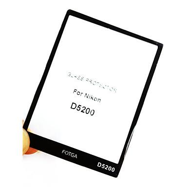 nikon d5200 için fotga® prim lcd ekran paneli koruyucusu cam