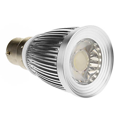 B22 LED-spotlampen 1 COB 600-630 lm Koel wit 6000-6500 K AC 85-265 V