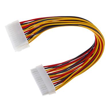 Kadın ATX Power Uzatma Kablosu 24-Pin Erkek (0.3M)