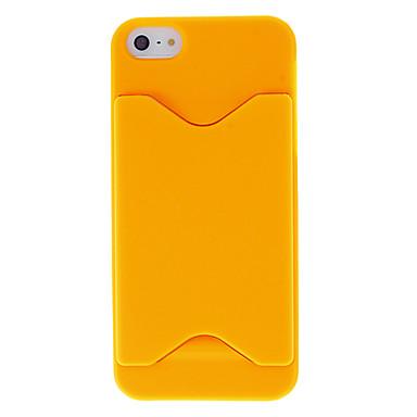 Дело Специальное конструкторское Solid Color Hard с карт памяти для iPhone 5/5S (разных цветов)