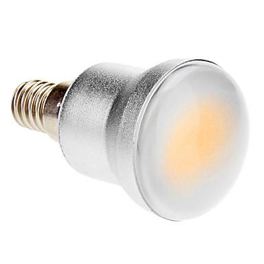1 buc 5 W Bulb LED Glob 280-320 lm E14 1 LED-uri de margele COB Alb Cald 85-265 V