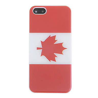 a64882f0ad5 Canada Flag Pattern Back Case for iPhone 5 5S 965293 2019 –  3.99