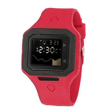 Children/Men's SYNOKE LEO Dial Digital PU Band Water Resistant Wrist Watch Cool Watches Unique Watches