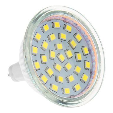 3 W 250-300 lm GU5.3(MR16) LED Σποτάκια 24 leds Θερμό Λευκό Ψυχρό Λευκό AC 12V