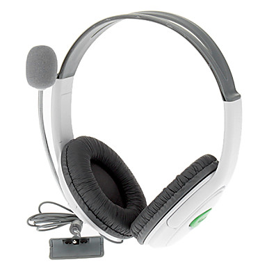 Wired Headphones For Xbox 360 ,  Headphones Metal / ABS 1 pcs unit