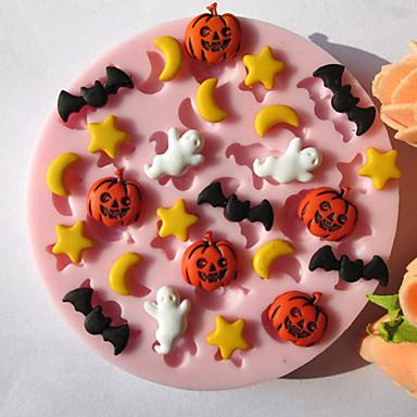 Bakeware araçları Silikon Çevre-dostu / Cadılar Bayramı Kek / Kurabiye / Tart Pişirme Kalıp 1pc
