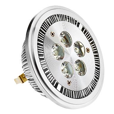 SENCART 420-450 lm G53 Lâmpadas de Foco de LED 5 leds LED de Alta Potência Branco Quente AC 85-265V