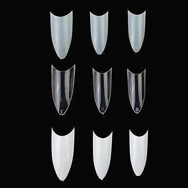 100 pcs Unghii False Integrale nail art pedichiura si manichiura Zilnic Abstract / Modă / Teracotă