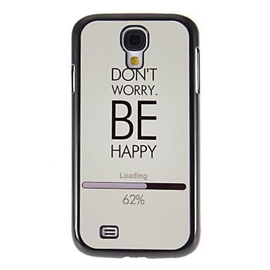 Ayna Samsung Galaxy S4 I9500 HD Ekran Film 3 Adet ile Hard Case Arka Smooth Desen Endişe etmeyin
