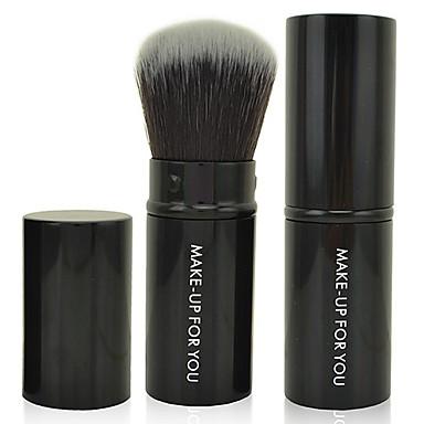 1pcs Кисти для макияжа профессиональный Кисть для пудры Синтетические волосы Антибактериальный Маленькая кисть