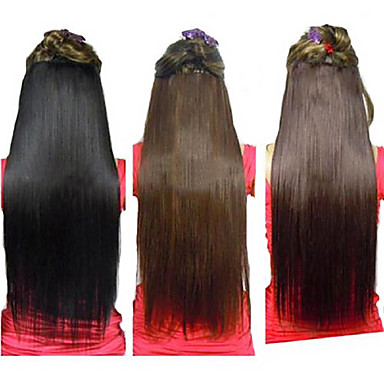 Human Hair Extensions High Quality Straight Classic Women's Daily