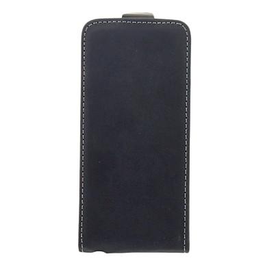 iphone 5 / 5s iphone 7 artı mat pu deri üst kapak açık tam vücut dava