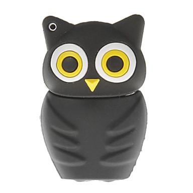 8G Night Owl Shaped USB Flash Drive