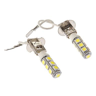 H3 Araba Soğuk Beyaz 6W SMD LED 5500-6000 Gösterge Işıkları Plaka Aydınlatma Lambası Sinyal Lambası Fren Işığı