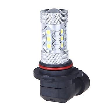 süper parlak 80w 9006 HB4 araba far ışığı lambası led ampul