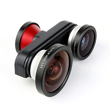 Aluminyum Balıkgözü Lens 10X ve üstü 140 Diğer iPhone 5 iPhone 5S