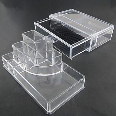 Banyo Gereçleri Çok-fonksiyonlu Çevre-dostu Hediye Depolama Moda Arkilik Plastik 1 parça - Banyo banyo organizasyonu