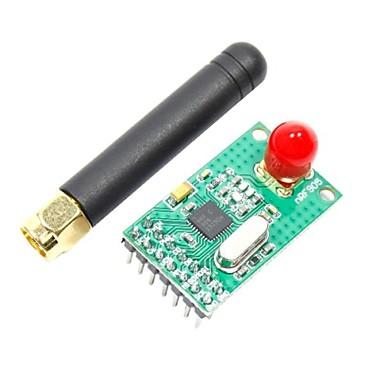 modul wireless 433/868/915mhz nrf905 w / antena pentru (pentru Arduino) (funcționează cu (pentru Arduino) placi oficiale) (2.7 ~ 3.3V)