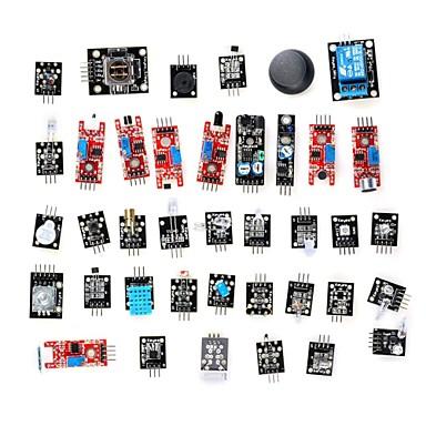 Arduino İçin DIY 37'si 1 Arada Sensör Modül Kiti (Resmi Panolar ile Çalışır)