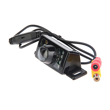 2.4G Wireless 7 LED Farbe Nachtsicht Rückfahrkamera Backup-Kamera mit GPS-Navigator Verbindungskabel
