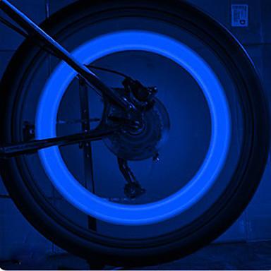 Bisiklet Işıkları tekerlek ışıkları LED Bisiklet hücreli piller Lümen Batarya Bisiklete biniciliği