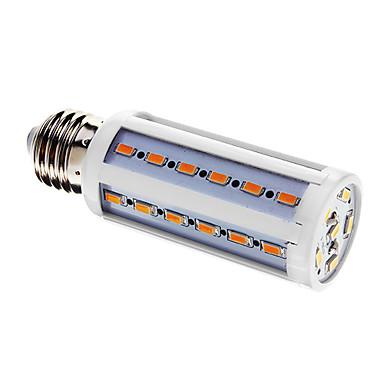 800 lm E26/E27 LED Mısır Işıklar T 42 led SMD 5730 Sıcak Beyaz AC 220-240V