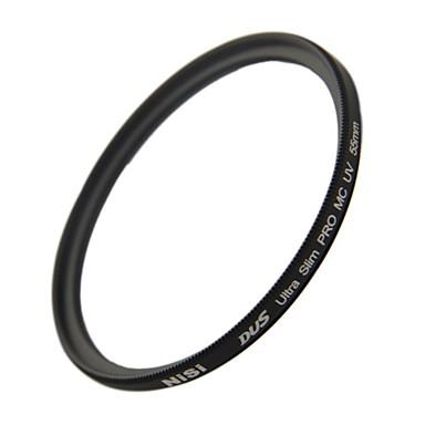 Nikon Canon Sony Kameralar için NISI 55mm MC UV Ultra Violet Ultra-ince çift taraflı çok katmanlı kaplama lens Filtre Koruyucu