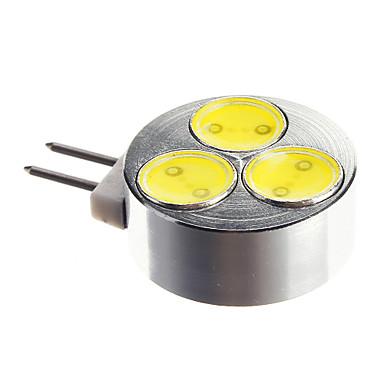 200 lm G4 LED Spot Işıkları 1 led Serin Beyaz DC 12V