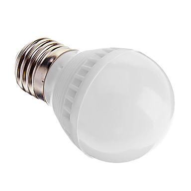 1pc 3 W 100-180 lm E26 / E27 LED Küre Ampuller G45 10 LED Boncuklar SMD 2835 Dekorotif Beyaz 220-240 V / # / RoHs
