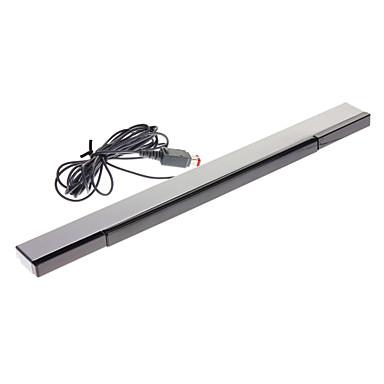 Wii Siyah ve Gümüş için USB Tak Kablolu Sensör Bar (Kablo 2.3m)