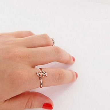 Pentru femei Band Ring degetul mare Inimă Iubire femei Neobijnuit Design Unic European Aliaj Inele la Modă Bijuterii Auriu / Argintiu Pentru Petrecere Zilnic Casual 7