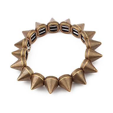 Punk Style Rivet Connected Bracelet(Assorted Colors)