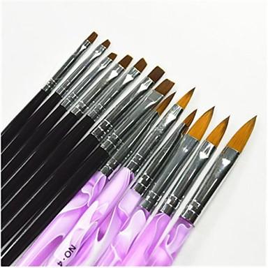 tırnak sanatı Fırçalar Kalemler Resim Fırçaları Resim Aksesuarları Aksesuar Kit Araçlar ve Aksesuarlar DIY Aletler Tırnak fırçası Kiti