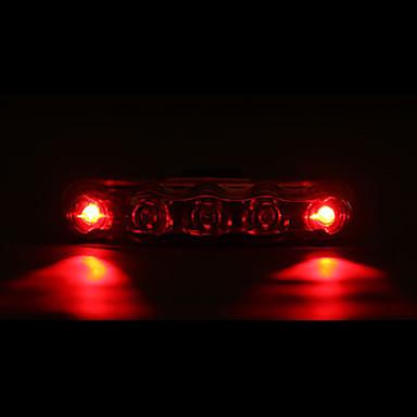 Bisiklet Işıkları / Bisiklet Arka Işığı LED Bisiklet Su Geçirmez / LED Işık AAA Lümen Batarya Bisiklete biniciliği - MOON