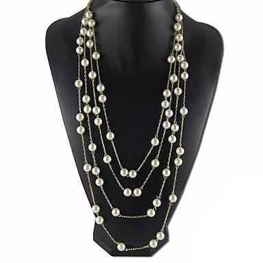 eruner®multilayer жемчужное ожерелье