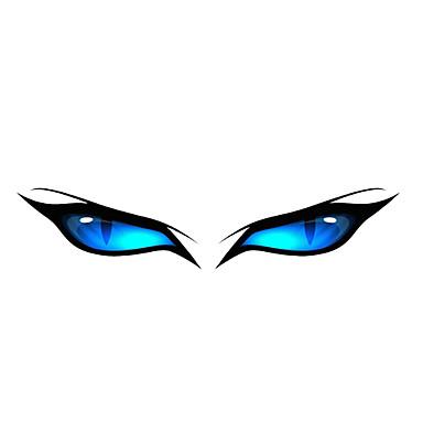 블루 아이 패턴 장식적인 차 스티커