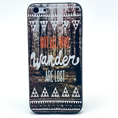 Jungle Desen iPhone 5C için Hard Case kaybetti
