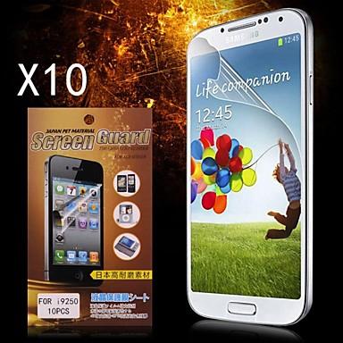 Samsung Galaxy Nexus I9250 (10pcs) için Koruyucu HD Ekran Koruyucu