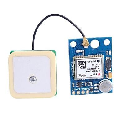 Anten GY-GPS6MV1 GPS APM2.5 Modülü - Deep Blue (3 ~ 5V)