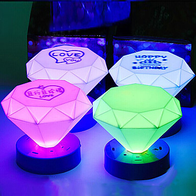 LED Forma con ABS colorat lumina de noapte (Random Color)