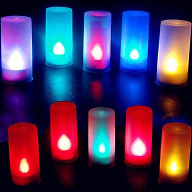 1pc Mum ışığı Batarya Dekorotif