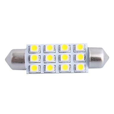 SO.K 1 Peça Carro Lâmpadas 3 W SMD LED Iluminação interior