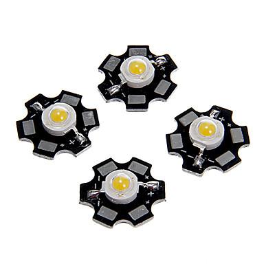 Zdm 5 adet 1w 80-100lm yüksek parlaklık çip, yüksek güç led sıcak beyaz yüksekliği 3000-3500k, alüminyum substrat (dc3-3.2v 350ma)