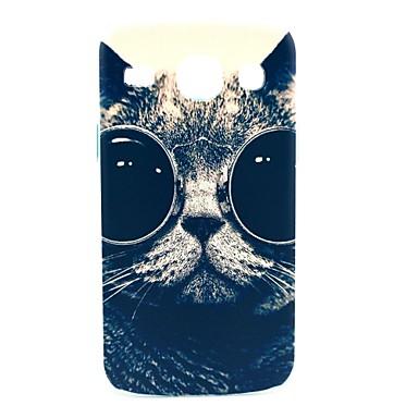 Sunglass Cat model greu de caz pentru Samsung Galaxy Core I8262