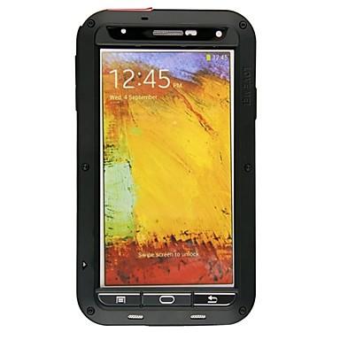 Lovemei Pouzdro Uyumluluk Samsung Galaxy Samsung Galaxy Note Su Geçirmez / Şoka Dayanıklı / Toz Geçirmez Tam Kaplama Kılıf Zırh Metal için Note 3