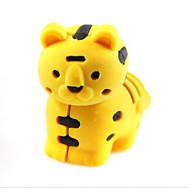 detachablelittle drăguț tigru în formă de gumă de șters (culoare aleatorii x 2 buc)